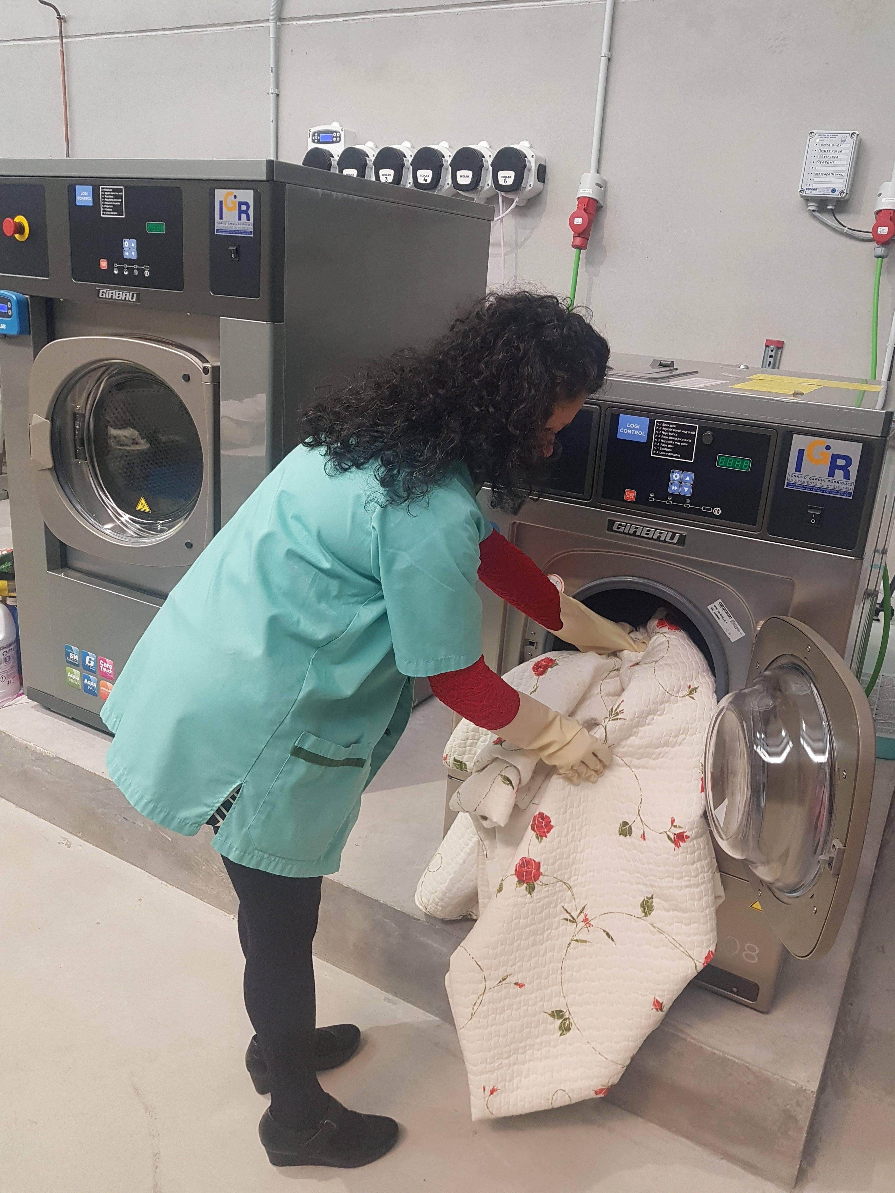 Servicios de lavandería y limpieza